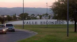 Foto Terreno en Venta en  Cordoba Capital ,  Cordoba  Valle Escondido - Los Cielos