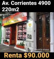 Foto Local en Venta en  Caballito ,  Capital Federal  Av. Corrientes al 4900