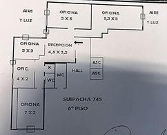 Foto Oficina en Venta | Alquiler en  Centro ,  Capital Federal  Suipacha al 700