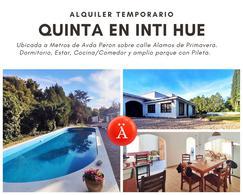 Foto Quinta en Alquiler en  Santa Rosa,  Capital  Alamos de Primavera al 200