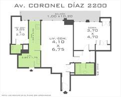 Foto thumbnail Oficina en Venta en  Barrio Norte ,  Capital Federal  Av. Coronel Diaz y French