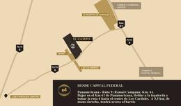 Foto Terreno en Venta en  El Campo - Fincas Exclusivas Cardales,  Countries/B.Cerrado (Campana)  VENTA   LOTE Bosque Central   Etapa 1