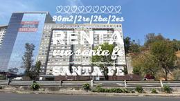 Foto Departamento en Renta en  Lomas de Santa Fe,  Alvaro Obregón  Departamento en renta, Santa Fe, Via Santa Fe II