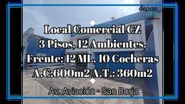 Foto Local en Alquiler en  San Borja,  Lima  Av Aviacion