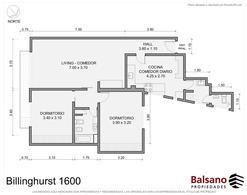 Foto Departamento en Venta en  Recoleta ,  Capital Federal  Billinghurst al 1600