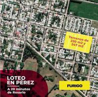 Foto Terreno en Venta en  Perez ,  Santa Fe  Alberdi entre Pje. Uspallata y Catamarca - Lotes 62 y 63