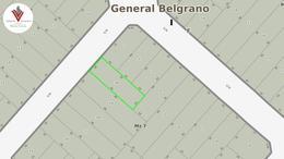 Foto Terreno en Venta en  General Belgrano,  General Belgrano  601 e/ 622 y 624