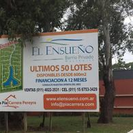 Foto Terreno en Venta en  La Pista,  Ingeniero Maschwitz  Lote a la Laguna Barrio El Ensueño, Ing. Maschwitz