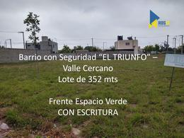 Foto Terreno en Venta en  El Triunfo,  Valle Cercano  Valle Cercano - El triunfo