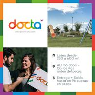 Foto Terreno en Venta en  Docta,  Cordoba Capital  DOCTA PARQUE