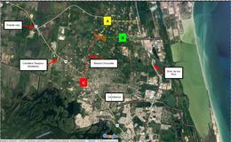 Foto Terreno en Venta en  Parque industrial Puerto Industrial de Altamira,  Altamira  TERRENO EN VENTA  CERCA DEL PUERTO INDUSTRIAL ALTAMIRA, TAMAULIPAS, RANCHO SAN LUISITO