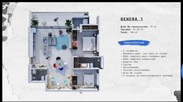 Foto Departamento en Venta en  Fraccionamiento Jardines de La Concepcíon,  Aguascalientes  AERA Departamentos en PreVenta GENERA 1