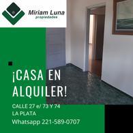 Foto PH en Alquiler en  La Plata ,  G.B.A. Zona Sur  27 e/ 73 y 74