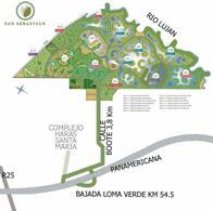 Foto Terreno en Venta en  San Sebastián,  Escobar  Lote perimetral en venta en San Sebastian Area 13