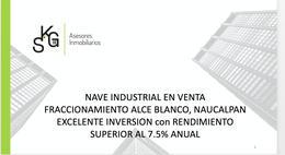 Foto Nave Industrial en Venta en  Industrial Alce Blanco,  Naucalpan de Juárez  Norte Sur 8
