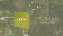 Foto Campo en Venta en  Dupuy ,  San Luis  Gobernador Dupoy