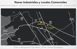 Foto Nave Industrial en Venta en  Rancho o rancheria Guadalupe la Venta,  El Marqués  Bodega Industrial Venta Akira Park $6'192,613 Priher EQG1