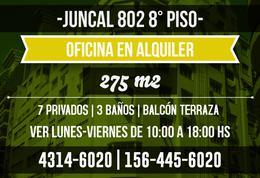 Foto thumbnail Oficina en Alquiler en  Microcentro,  Centro  Juncal al 800