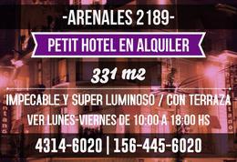 Foto thumbnail Edificio Comercial en Alquiler en  Recoleta ,  Capital Federal  Arenales al 2100