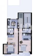 Departamento - Mono con cocina separada y terraza exclusiva. Oportunidad invesión