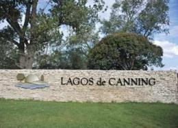 Foto Terreno en Venta en  Canning,  Esteban Echeverria  Sargento Cabral 5600 Lagos de Canning
