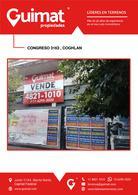 Foto Terreno en Venta en  Coghlan ,  Capital Federal  CONGRESO al 3100