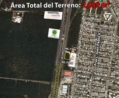 Foto Terreno en Venta en  Fraccionamiento Juan Pablo,  Mérida  Terreno De 2,849 m2 En Periférico Poniente