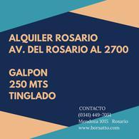 Foto Depósito en Alquiler en  Rosario ,  Santa Fe  Av del Rosario Nº2747