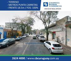 Foto Terreno en Venta en  Punta Carretas ,  Montevideo  Punta Carretas
