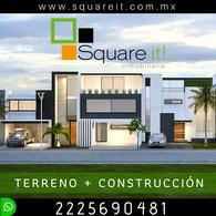 Foto Casa en Venta en  Fraccionamiento Lomas de  Angelópolis,  San Andrés Cholula   Construcción Casa en terreno de 200 m2  en Lomas de Angelópolis