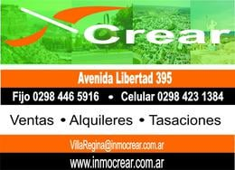 Foto Casa en Venta en  Villa Regina,  General Roca  CASA Y SALONES EN VILLA REGINA