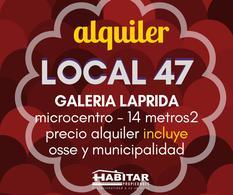 Foto Local en Alquiler | Venta en  Capital ,  San Juan  Galeria Laprida