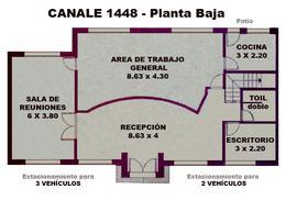 Foto Oficina en Venta en  Adrogue,  Almirante Brown  CANALE 1448, entre Avda. Espora y Ferrari