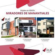 Foto Casa en Venta en  Miradores de Manantiales,  Cordoba Capital  Dúplex en Venta de 3 y 2 Dormitorios Miradores de Manantiales. Zona Sur
