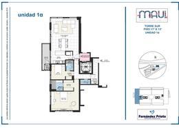 Foto Departamento en Venta en  Puerto Norte,  Rosario  MAUI. Av. Estanislao Lopez 2671. S11A1