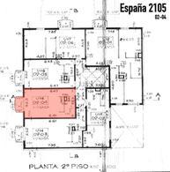 Foto Departamento en Venta en  Abasto,  Rosario  España al 2100 Monoambiente al Frente con Balcón
