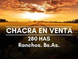 Foto Chacra en Venta en  Ranchos,  General Paz  Estación Alegre, acceso principal, 4 km de RP29 al 100
