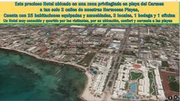 Foto Hotel en Venta en  Playa del Carmen,  Solidaridad  H o t e l  en playa del carmen  1 av nte calle 12 y 14 nte  centro