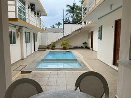 Foto Departamento en Renta en  Playa de Oro Mocambo,  Boca del Río  MOCAMBO, Departamento en RENTA AMUEBLADO con vista al mar de 2 recámaras, con alberca, en 1er piso