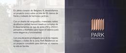 Foto Departamento en Venta en  Belgrano ,  Capital Federal  Park Residence- La Pampa al 3700