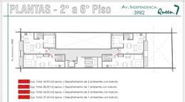 Foto Departamento en Venta en  Almagro ,  Capital Federal  Av. Independencia 3900 6°B