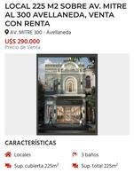 Foto Local en Venta en  Avellaneda,  Avellaneda  Av Mitre al 300