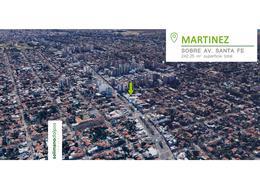 Foto Terreno en Venta en  Mart.-Vias/Santa Fe,  Martinez  Av Santa Fe al 2300