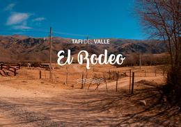 Foto Terreno en Venta en  Tafi Del Valle ,  Tucumán  El Rodeo