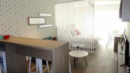 Foto Departamento en Alquiler en  Pocitos Nuevo ,  Montevideo  Monoambiente piso alto a estrenar
