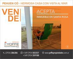 Foto Casa en Venta en  Pehuen Co,  Coronel Rosales  COSTANERA Pehuen-có -