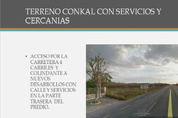 Foto Terreno en Venta en  Conkal ,  Yucatán  Se Vende Terreno  Comercial en Conkal Yucatan