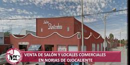 Foto Local en Venta en  Ejido Norias del Ojocaliente,  Aguascalientes  VENTA SALÓN DE FIESTAS Y LOCALES COMERCIALES, NORIAS DE OJOCALIENTE, AGS.
