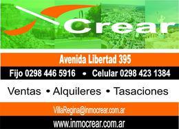 Foto Terreno en Venta en  Villa Regina,  General Roca  TERRENO EN VILLA REGINA