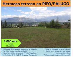 Foto Terreno en Venta en  Pifo,  Quito  Pifo, Hermoso Terreno en Venta, 4.000 m²